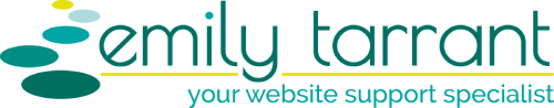 Emily Tarrant: your website support specialist